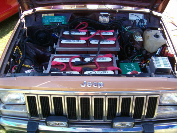 Jeep Cherokee Electric Vehicle Conversion