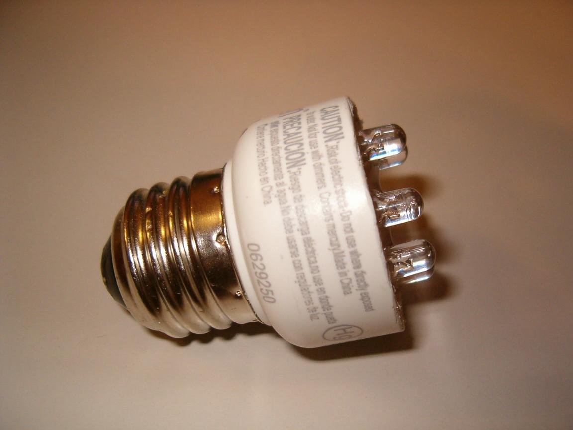 120 volt led night light circuit - Cfled Lamp 1 Photo