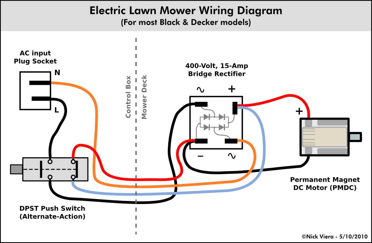 mower_wiring_diagram nick viera electric lawn mower wiring information electric motor switch wiring diagram at gsmportal.co