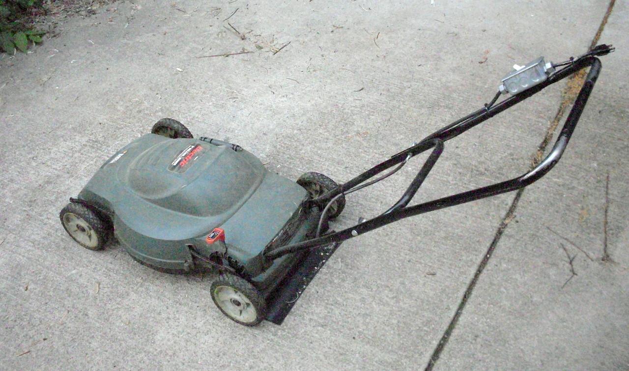 Electric Lawn Mower Switch Black And Decker Mm850 Wiring Diagram Nick Viera Repair